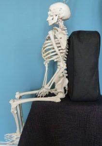 Balanced on sitting bones